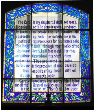 Psalm Window - Original
